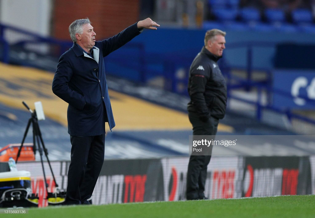 Key Quotes: Ancelotti says Everton 'got what they deserved' in defeat to Aston Villa
