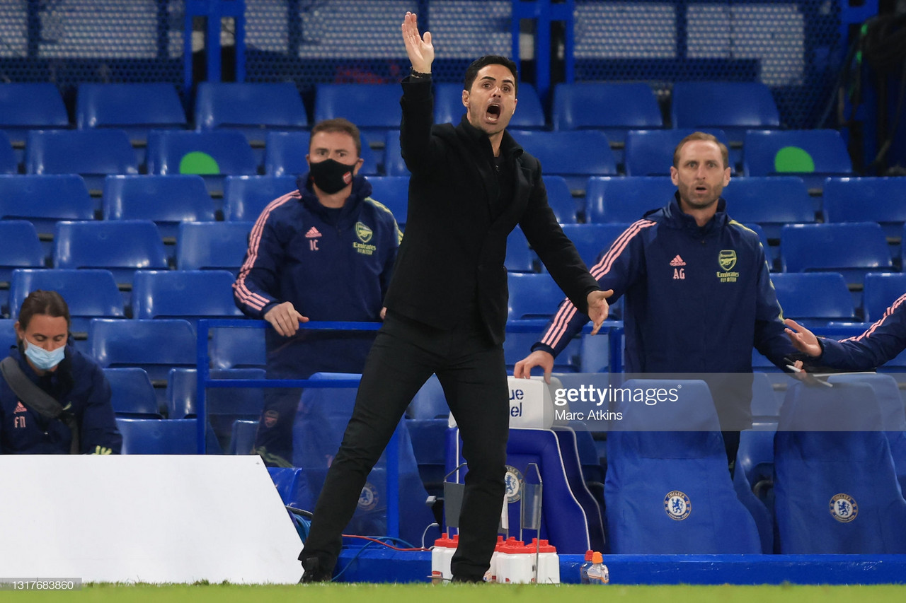 Mikel Arteta frustrated by the media