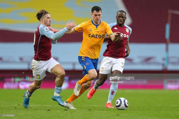 Aston Villa 0-0 Everton: Jack Grealish returns in stalemate at Villa Park