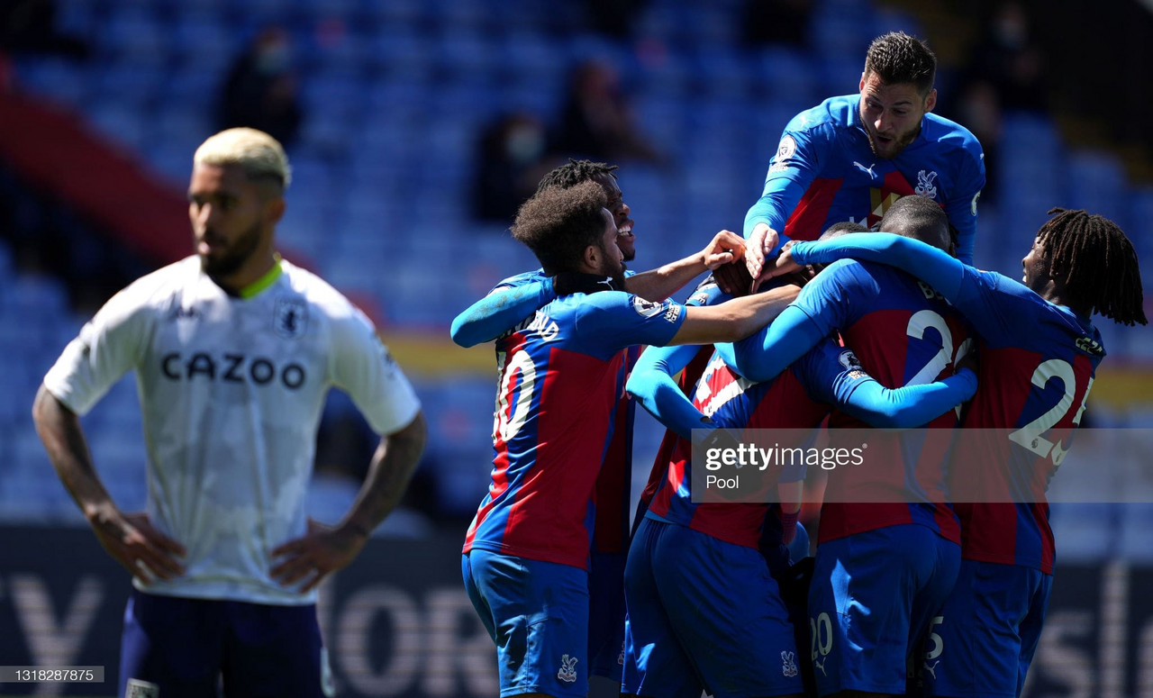 Crystal Palace 3-2 Aston Villa: Mitchell scores at the death as Eagles complete fightback