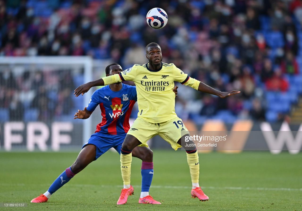 Crystal Palace 1-3 Arsenal: Nicolas Pepe grabs double at Selhurst Park