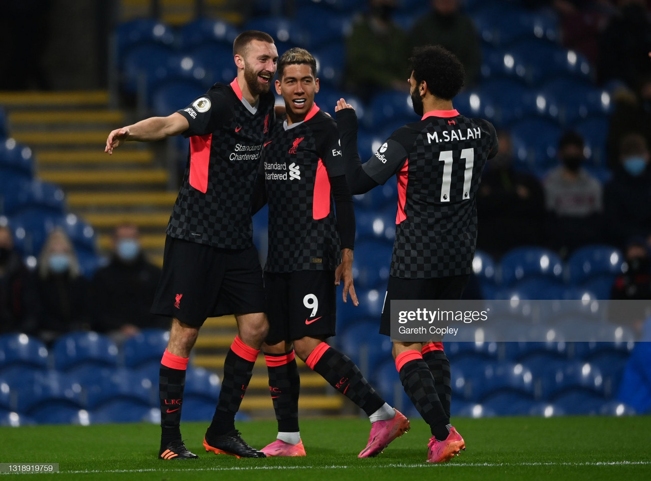 Burnley 0-3 Liverpool: Firmino fires Liverpool closer to Champions League qualification