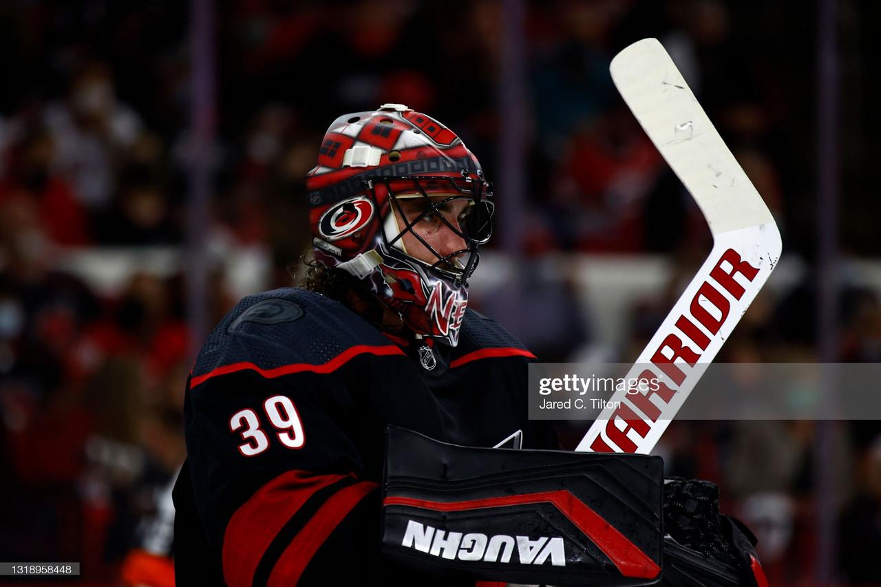 2021 Stanley Cup playoffs: Aho, Nedeljkovic lead Hurricanes past Predators in Game 2