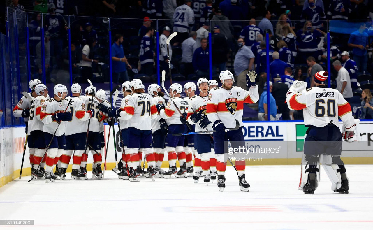 2021 Stanley Cup playoffs: Lomberg goal gives Panthers wild OT win over Lightning