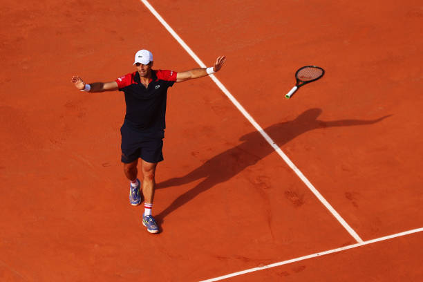 2021 French Open: Pablo Andujar stuns Dominic Thiem in five sets