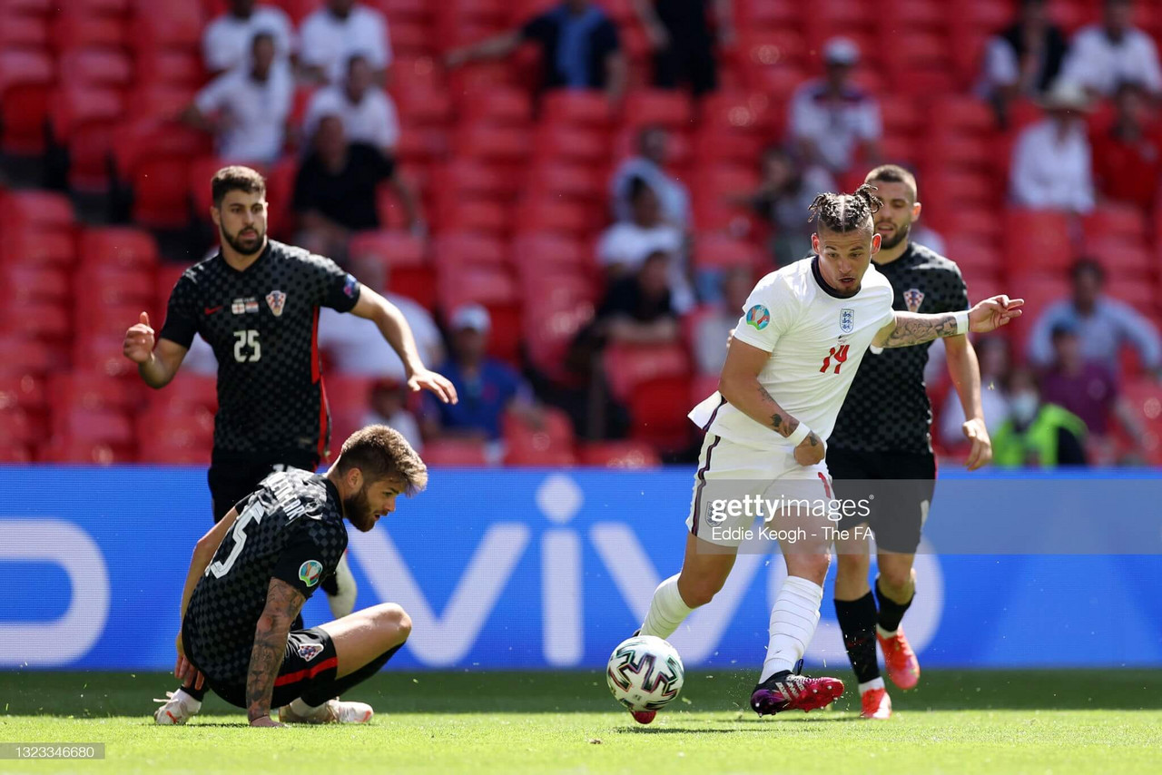 EURO 2020: Kalvin Phillips enjoys his afternoon in the sun