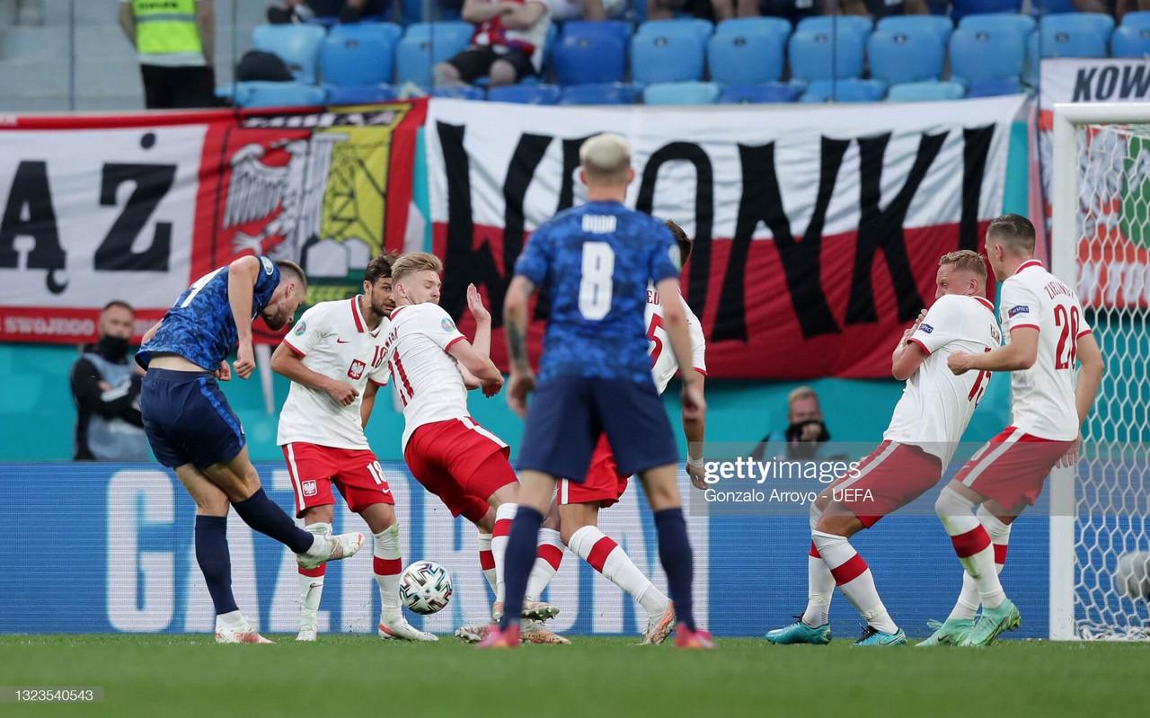 Poland 1-2 Slovakia: Slovakia open their Euro 2020 account with impressive victory