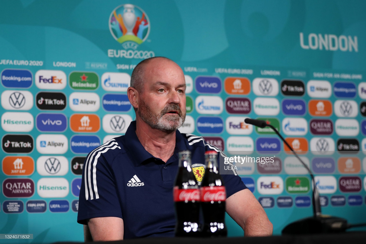 Steve Clarke's pre-England press conference quotes