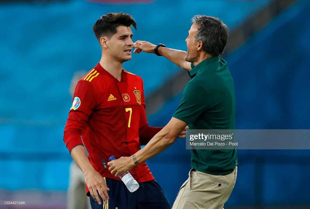 EURO 2020: Enrique urges police to act over Alvaro Morata abuse