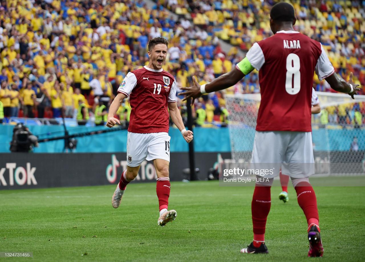 Ukraine (0-1) Austria: Live score and updates from Euro 2020