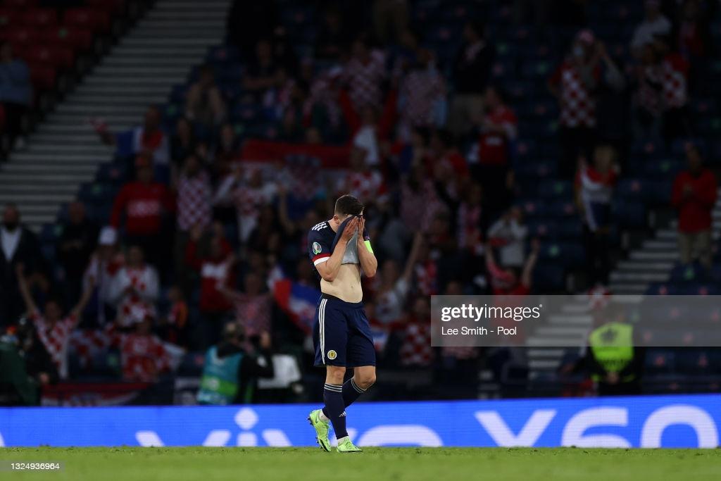 Croatia 3-1 Scotland: Modric stunner sees Steve Clarke's side to the end of the road