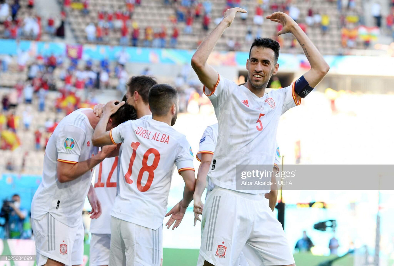 EURO 2020: Relief of reaching knockouts not lost on Enrique's Spain