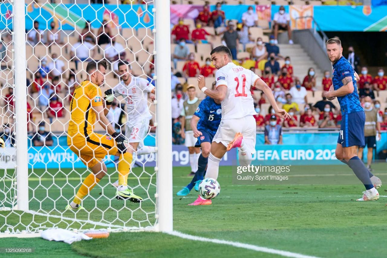 Slovakia 0-5 Spain: Five-star Spain run riot against Slovakia to progress