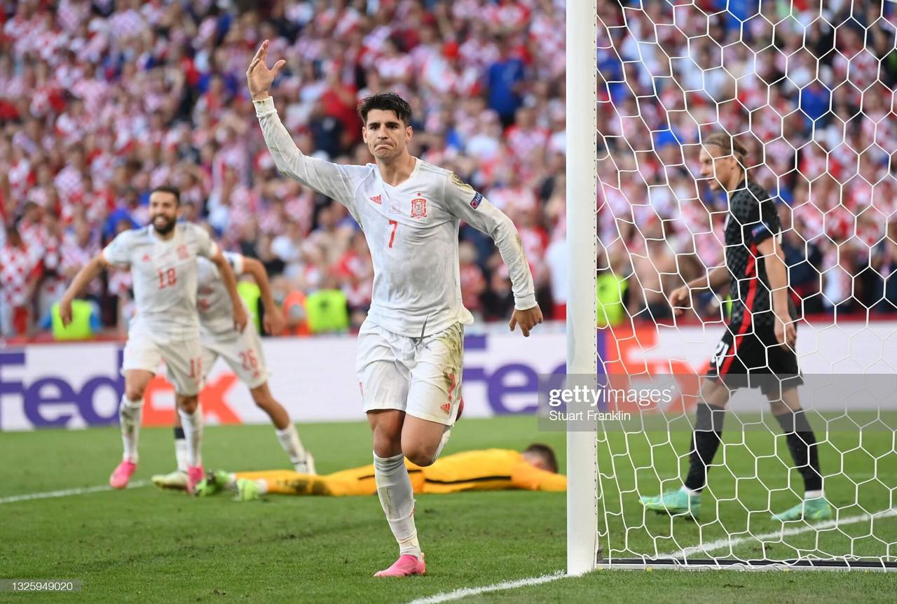 Croatia 3-5 Spain (aet): Spain edge thriller after Croatia's spirited comeback