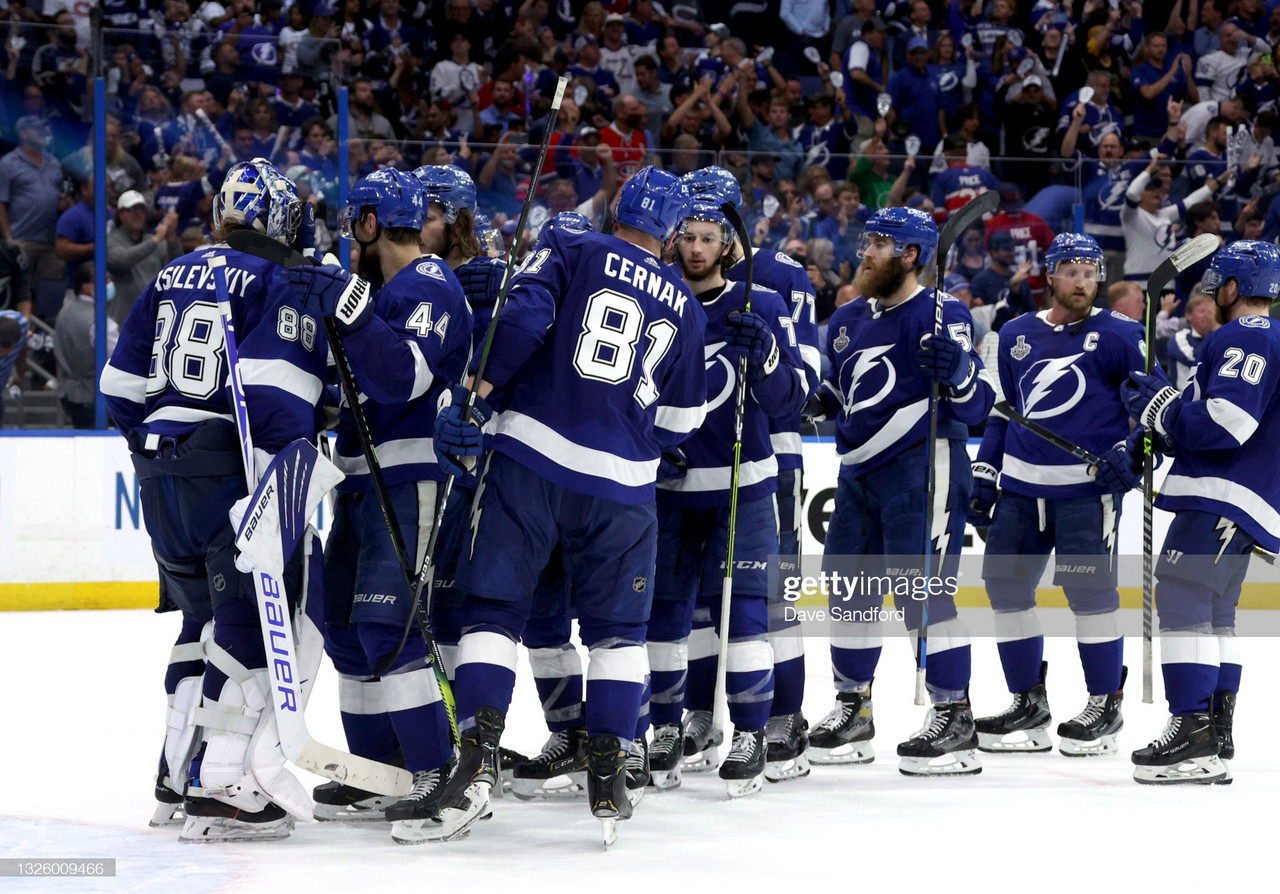 Stanley Cup Finals: Lightning dominate Canadiens in Game 1