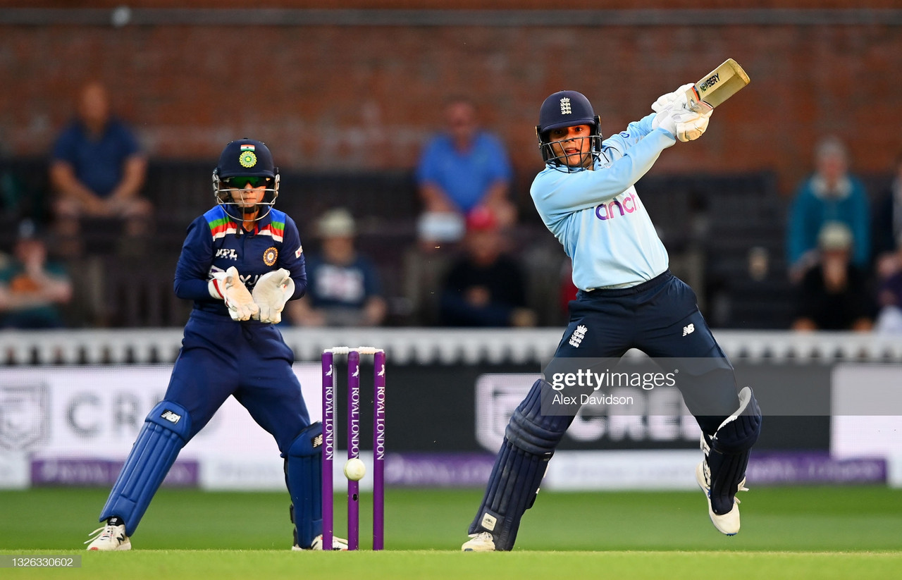England Women vs India Women second ODI: Debutant Dunkley leads England to tense win over India