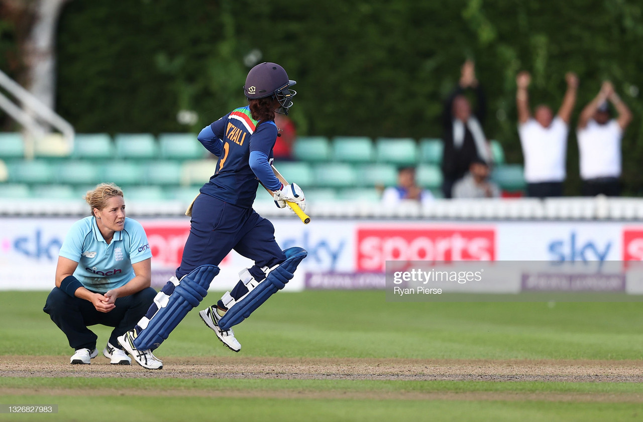 England Women vs India Women third ODI: Stunning Raj innings keeps series alive as India win in tense chase