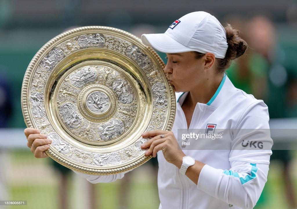 2021 Wimbledon: Ashleigh Barty claims second major title with victory over Karolina Pliskova