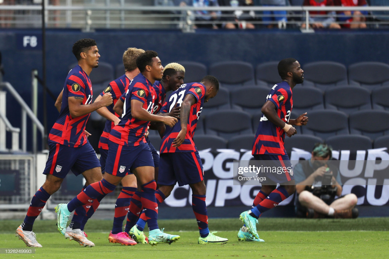 2021 CONCACAF Gold Cup: USA 1-0 Haiti: Unimpressive Stars and Stripes edge past Les Grenadiers