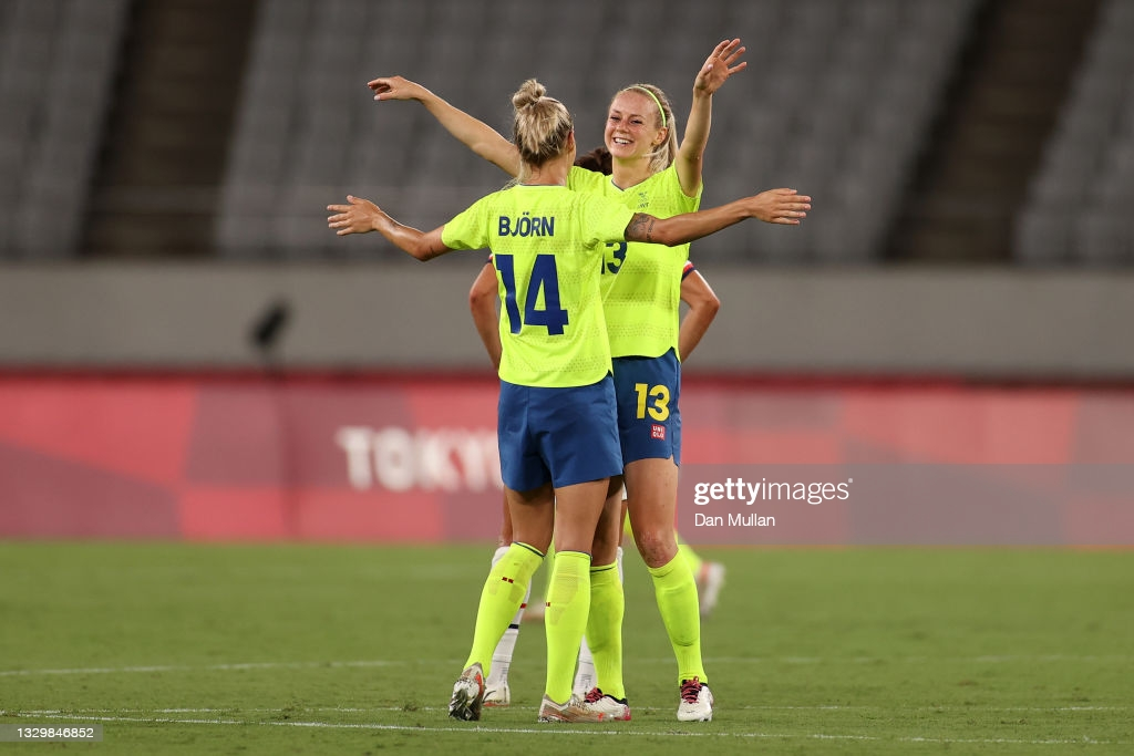 Tokyo 2020: Sweden stun USA; Netherlands put 10 past Zambia in opening day of women's soccer