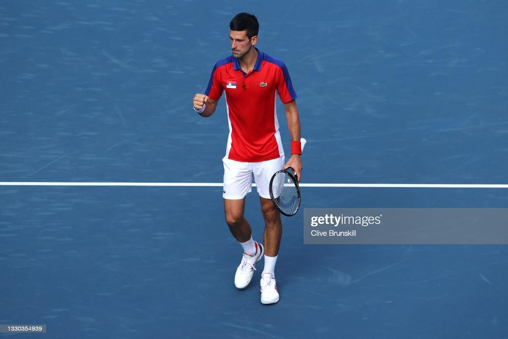 Tokyo 2020: Novak Djokovic routs Hugo Dellien in Olympic opener