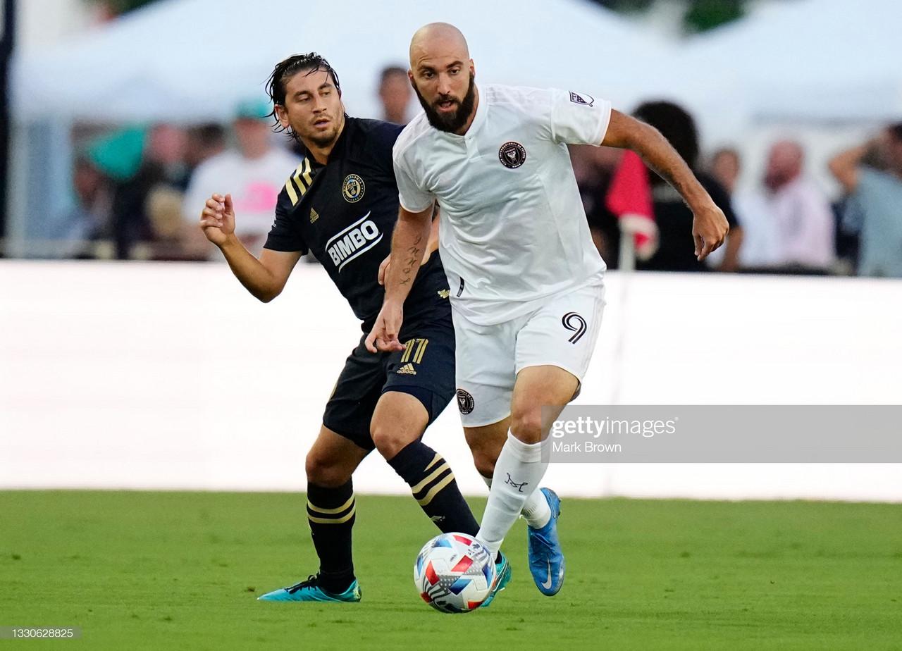 Inter Miami 1-1 Philadelphia: Przybylko rescues point for Union