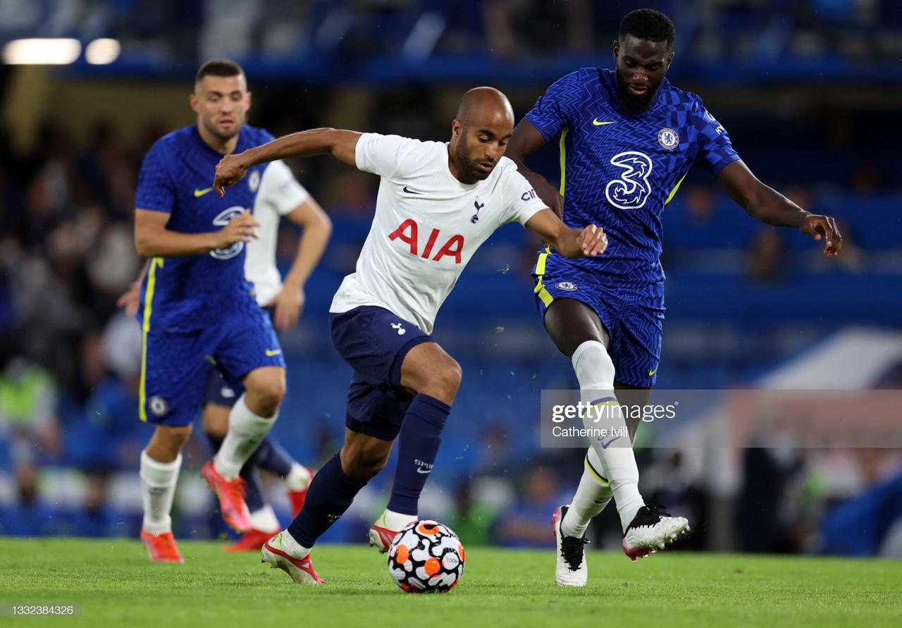 Chelsea 2-2 Tottenham Hotspur; Spurs effort cancels Ziyech brace