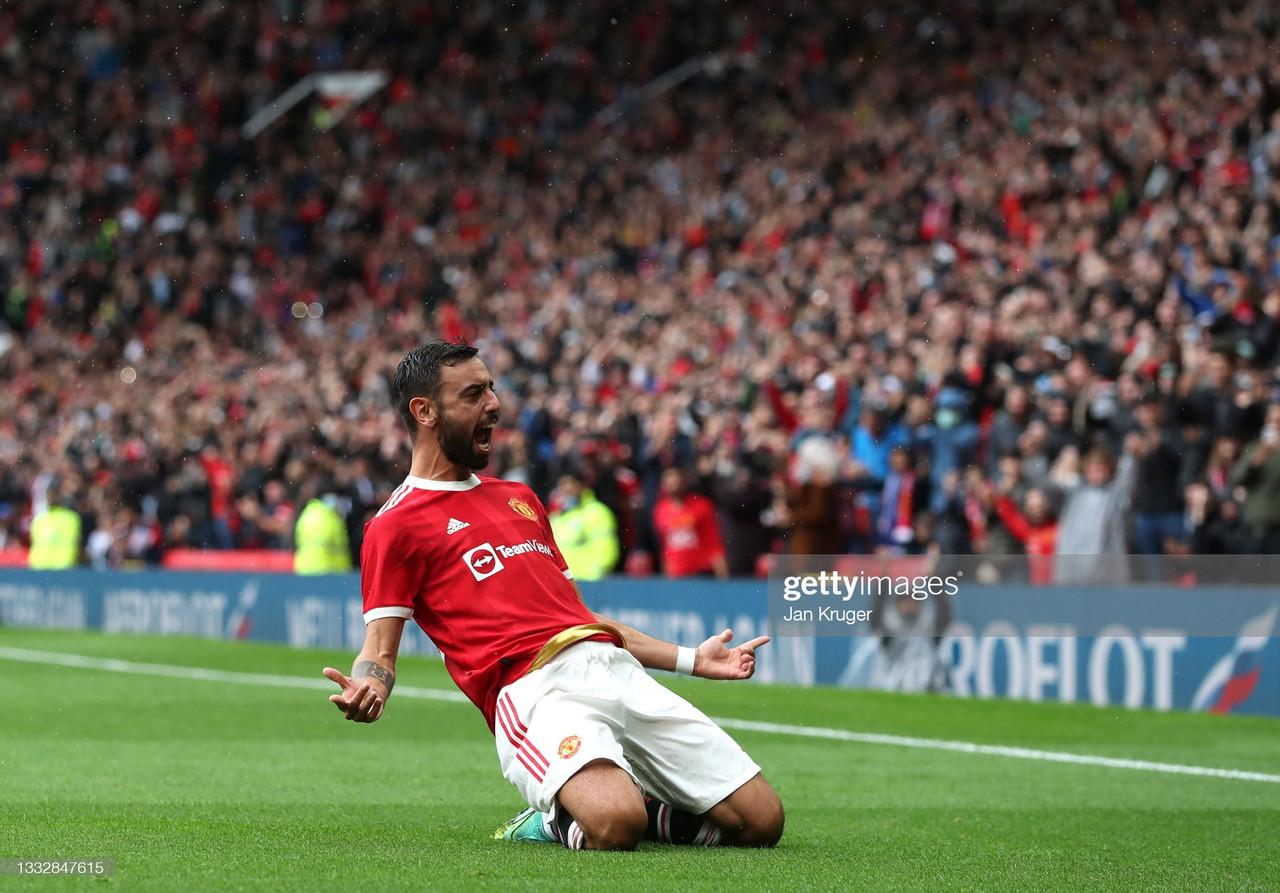 Manchester United 4-0 Everton: Bruno's brilliance back on show in final pre-season game