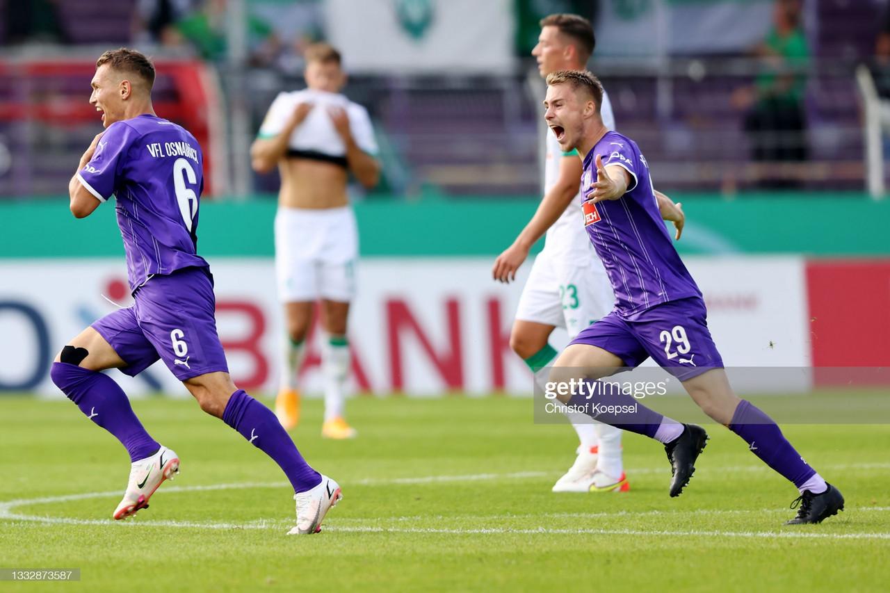 VfL Osnabrück 2-0 Werder Bremen DFB-Pokal first-round: Die Werderaner are eliminated