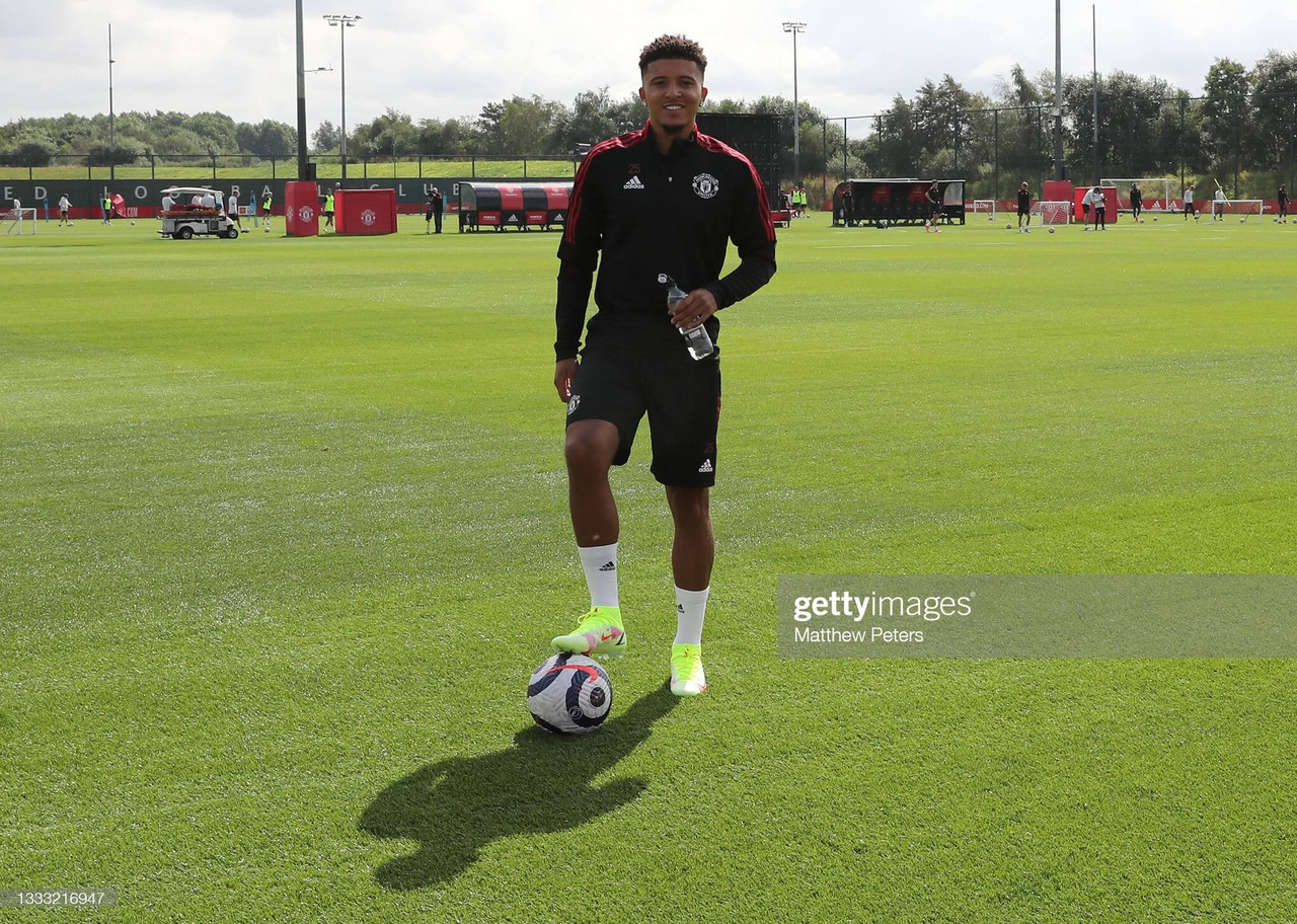Solskjaer ready to unleash Sancho in United's season opener with Leeds