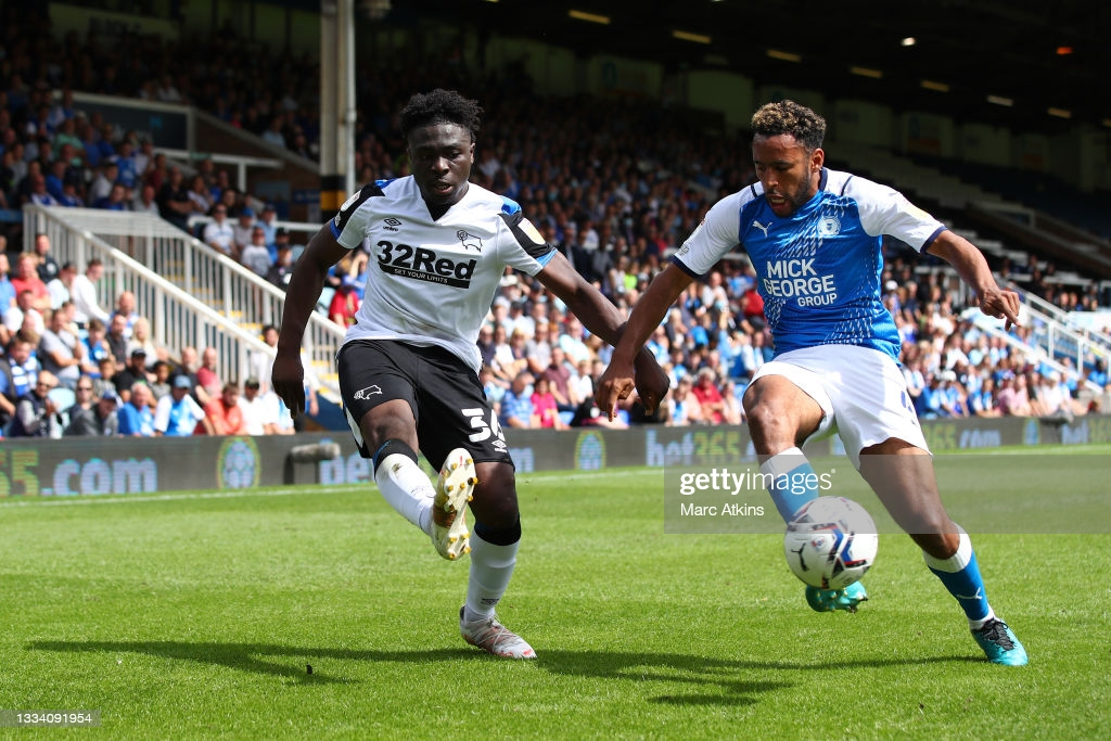 Peterborough United 2-1 Derby County: Dembele winner gives Posh all three points