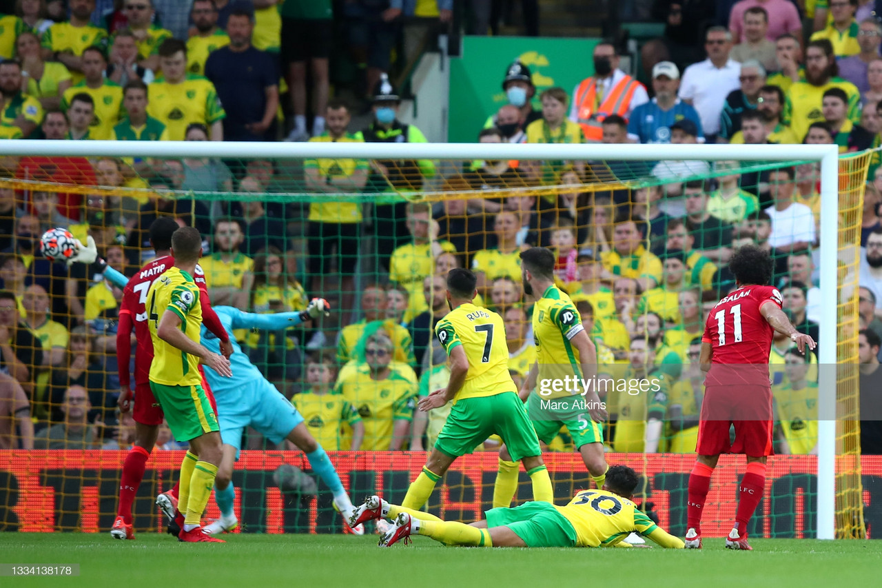 Norwich City 0-3 Liverpool: Salah masterclass fires Reds to victory