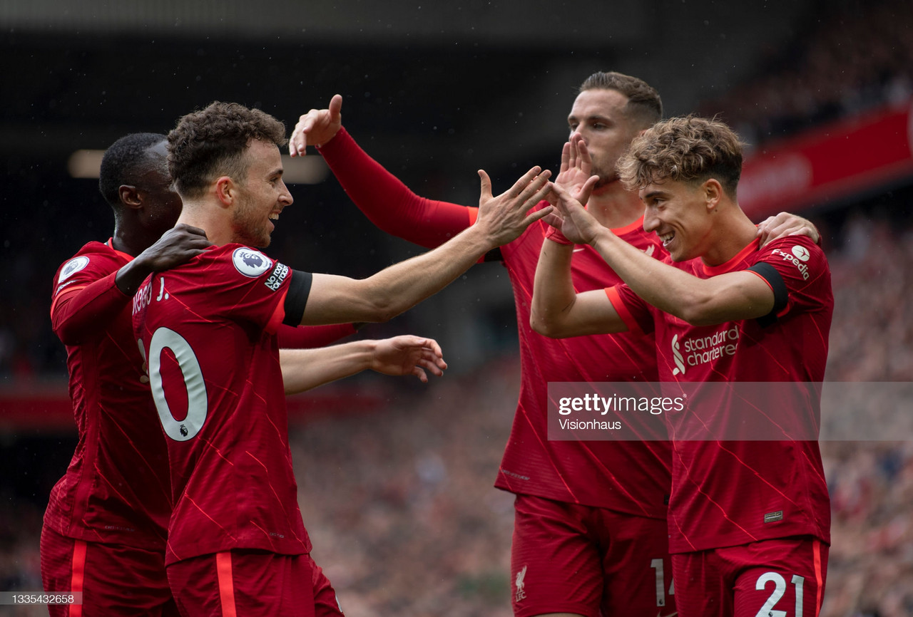 The Warmdown: Liverpool return to a full capacity Anfield with a commanding win