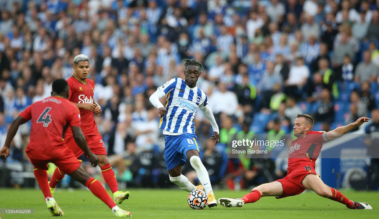 As it happened: Brighton 2-0 Watford as Hornets humbled on south coast