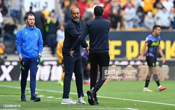 Wolves 0-1 Tottenham: The Warm down