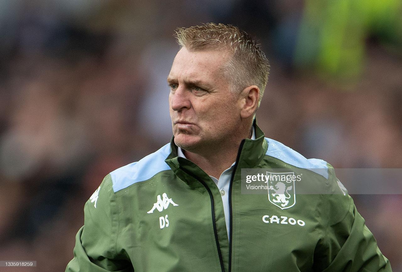 Dean Smith on Brentford tie