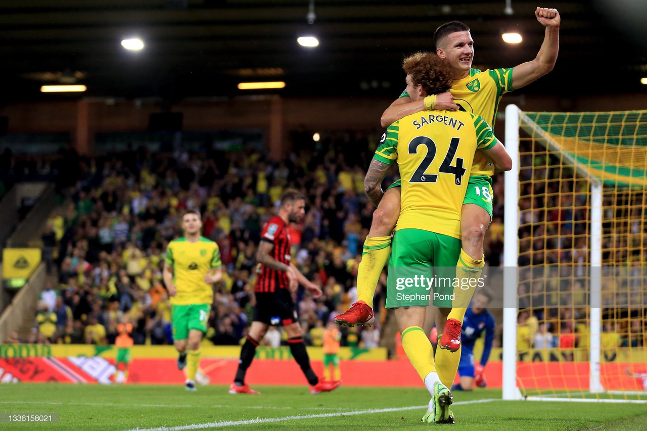 The Warm Down: New boy Tzolis shines on debut in a thumping 6-0 victory in front of the Carrow Road faithful