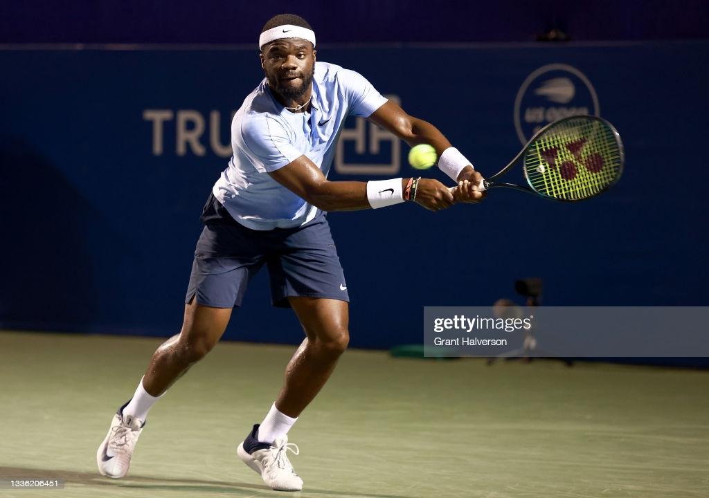 ATP Winston-Salem Day 3 wrpaup: Tiafoe beats Murray; Carreno Busta advances