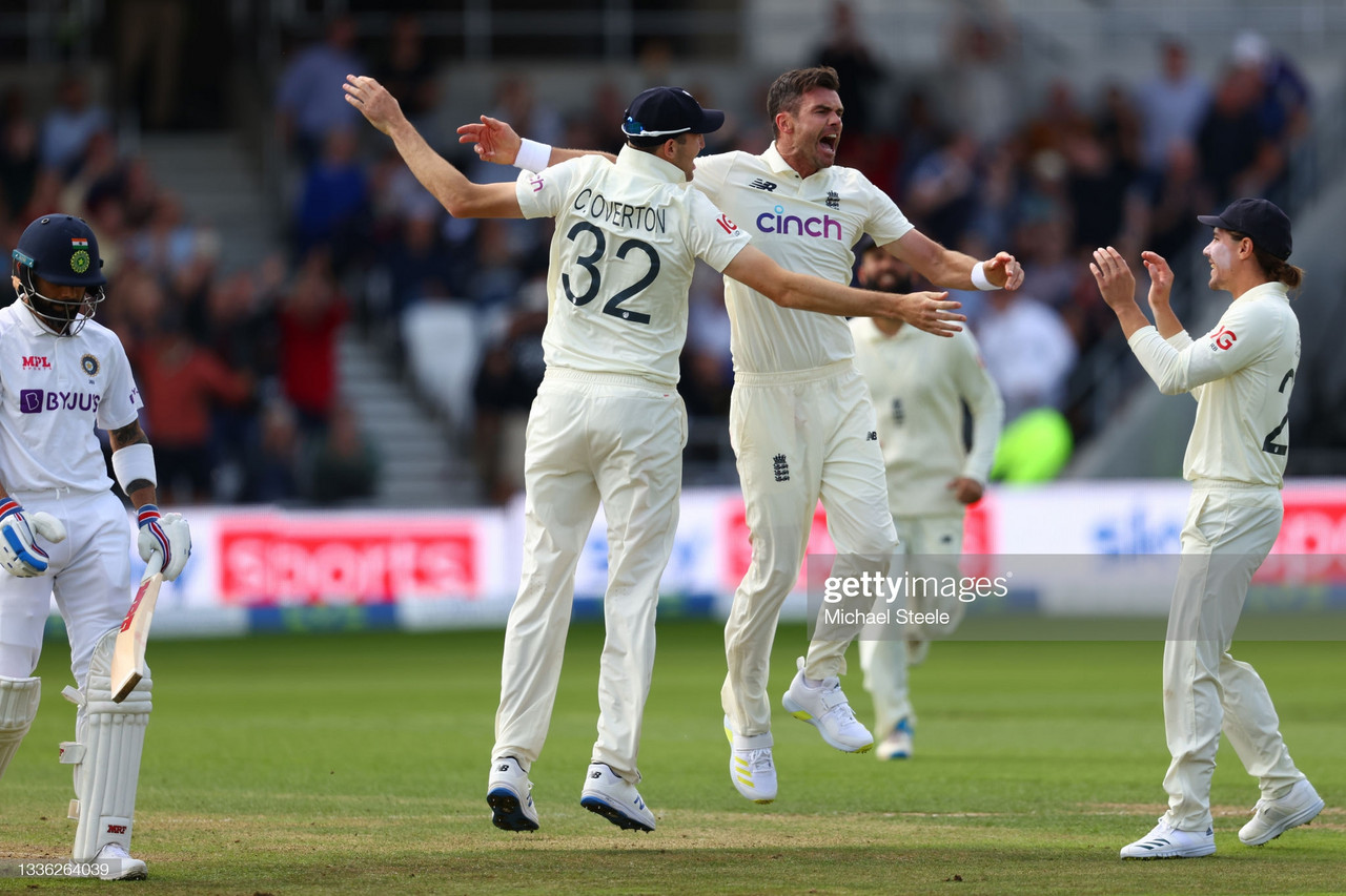 England vs India: Third Test day one - England enjoy perfect day as Indian batting crumbles