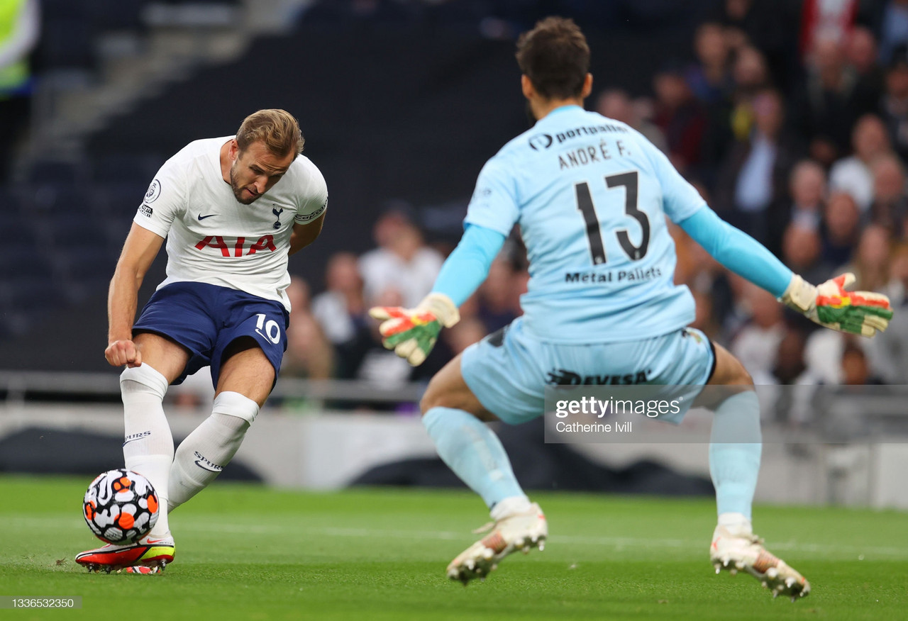 Tottenham 3-0 Pacos de Ferreira: Harry Kane brace fires Spurs to European victory