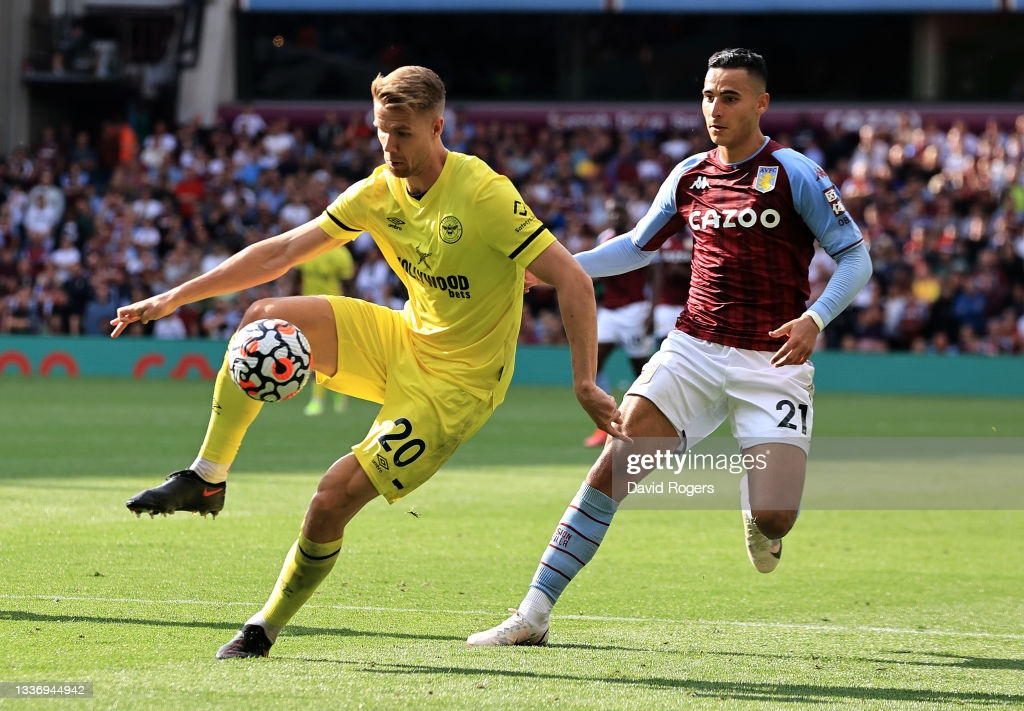 Aston Villa 1-1 Brentford: Villains and Bees share the points