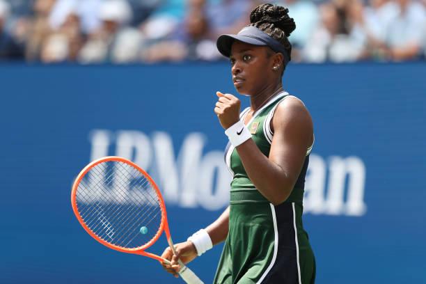 US Open: Sloane Stephens edges Madison Keys in three sets