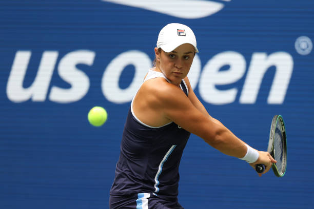 US Open: Ashleigh Barty fights past Vera Zvonareva