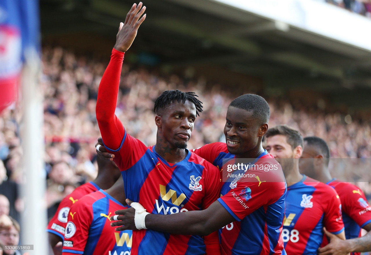 Crystal Palace 3-0 Tottenham Hotspur: Odsonne Edouard double gives Vieira first victory