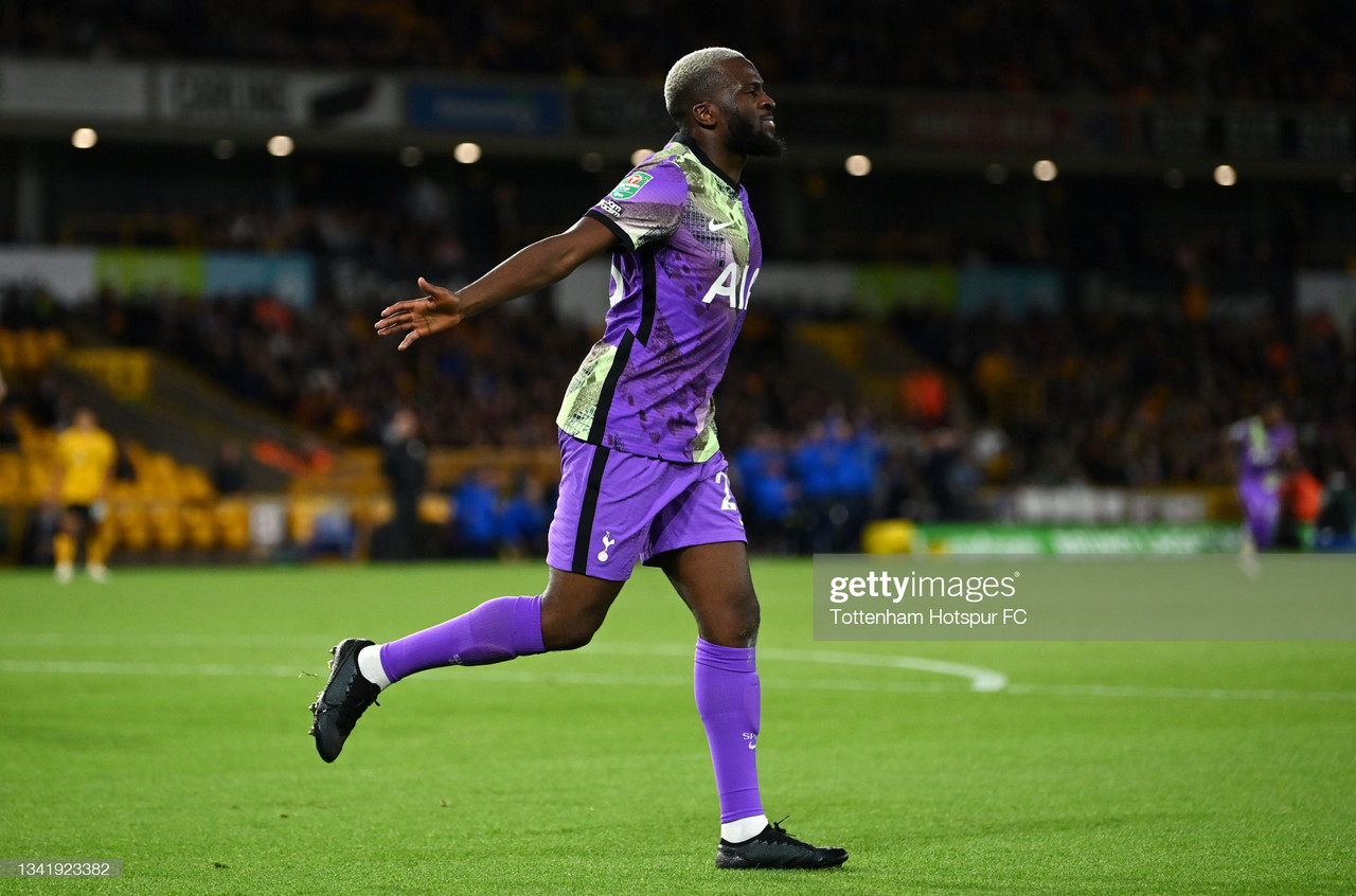 Ndombele continues to show inconsistency as Spurs beat Wolves in Carabao Cup