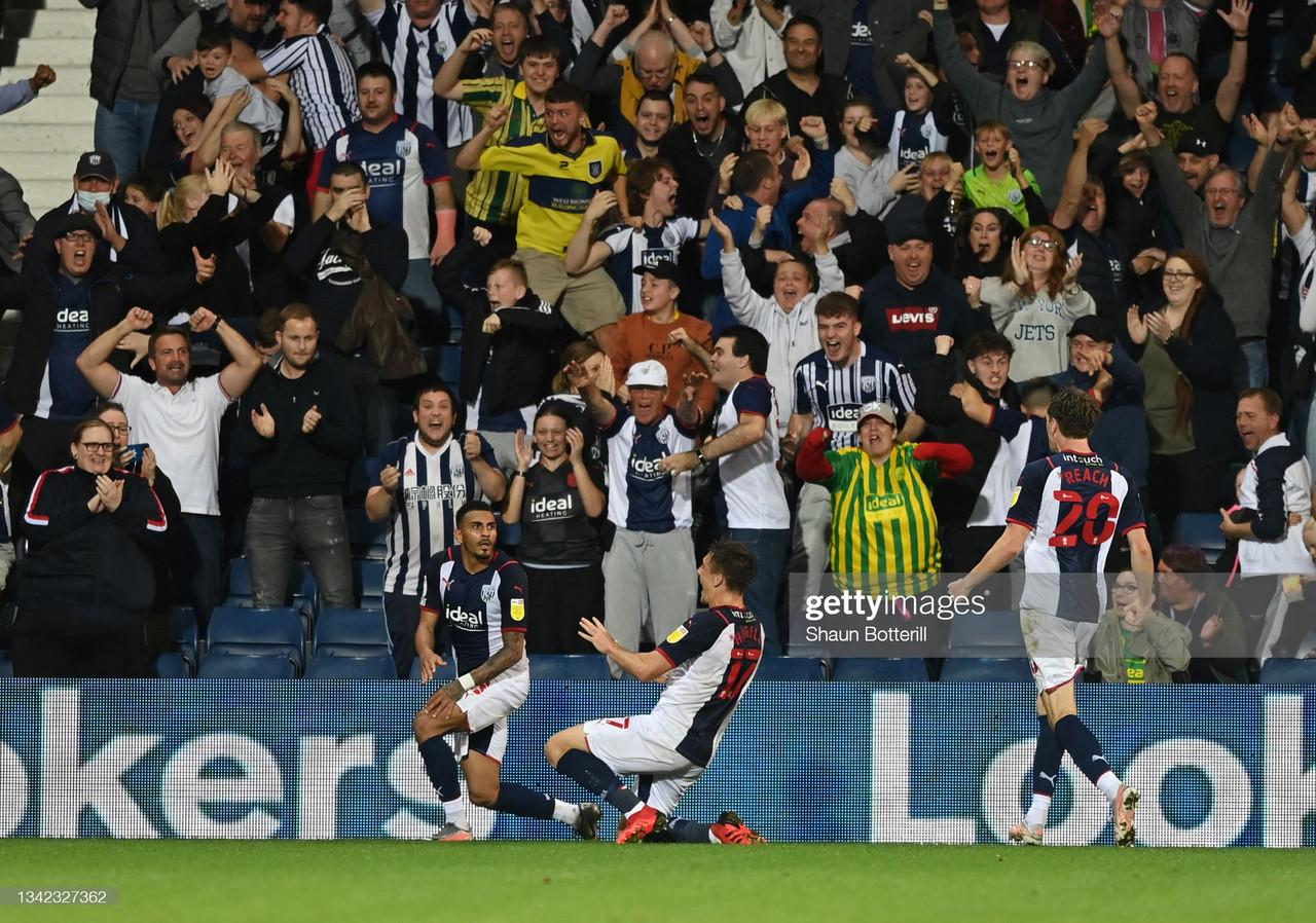 West Bromwich Albion 2-1 Queens Park Rangers: Baggies go top after second-half comeback