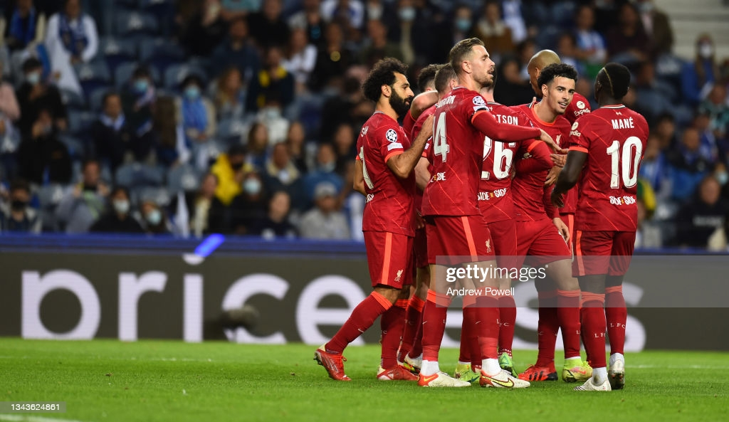 Porto 1-5 Liverpool: Reds in cruise control against sorry hosts