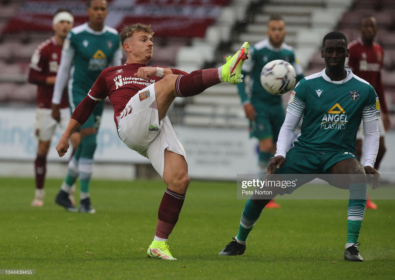 Northampton Town 0-2 Sutton United: Yellow Army roll past dreadful Cobblers