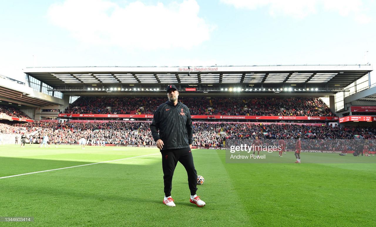Liverpool 2 - 2 Manchester City: Jurgen Klopp's post match comments