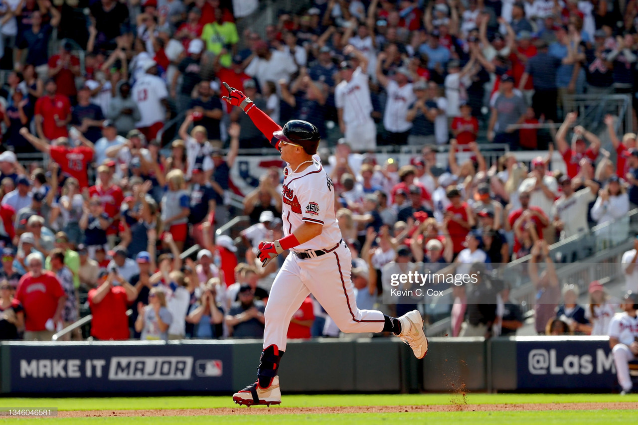 2021 National League Division Series: Pederson home run lifts Braves over Brewers in Game 3